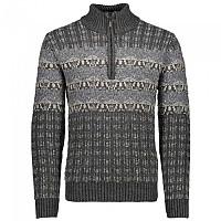 [해외]CMP Knitted Pullover Dark Grey