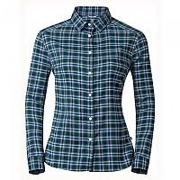 [해외]오들로 Burnaby Blouse L/S Ponderosa Pine / Algiers Blue Check