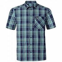 [해외]오들로 Anmore Shirt S/S Peacoat / Nile Blue / Four Leaf Clover / Check