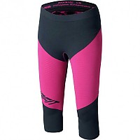 [해외]다이나핏 Innergy Performance Tights Asphalt / Fuchsia Print 1