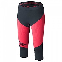 [해외]다이나핏 Innergy Performance Tights Asphalt / Fluo Coral