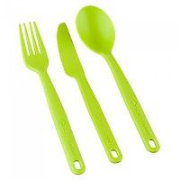 [해외]씨투서밋 Camp Cutlery Set 3 Pieces Lime
