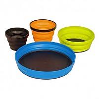[해외]씨투서밋 X Set 3 Piece X Mug.X Bowl X Plate & Storage Pouch Multicolour