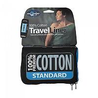 [해외]씨투서밋 Premium Cotton Travel Liner Standard Rectangular Navy
