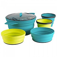 [해외]씨투서밋 Xset 31 5Pc Xpot 2.8L 2 Xbowls. 2 Xmugs Multicolour
