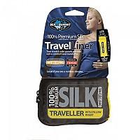 [해외]씨투서밋 Silk Stretch Liner Traveller With Pillow Slip Navy