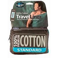 [해외]씨투서밋 Premium Cotton Travel Liner Mummy w / Hood&Box foot Navy