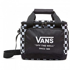 [해외]반스 Cooler Bag Black / White Check