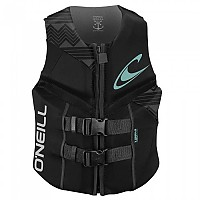 [해외]오닐 WETSUITS Reactor Uscg Vest Woman Black / Black / Black