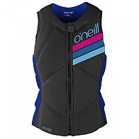 [해외]오닐 WETSUITS Slasher Comp Vest Woman Graphite / Tahitian Blue