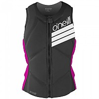 [해외]오닐 WETSUITS Slasher Comp Vest Woman Black / Punk Pink