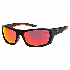 [해외]퀵실버 Knockout Polarized Floatable Matte Black / Orange