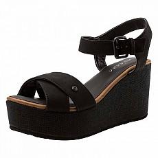 [해외]볼컴 Stone Platform Sandal Black