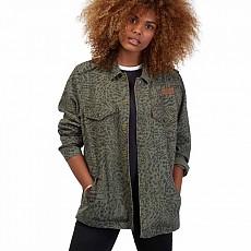 [해외]볼컴 Pretty Wild Jacket Army Green Combo