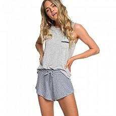 [해외]록시 Forbidden Summer Stripe Dress Blue Cosy Stripes
