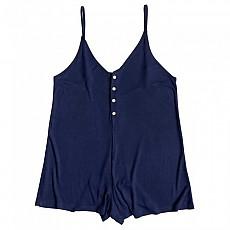 [해외]록시 Chill Love Knit Romper Medieval Blue