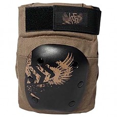 [해외]KRF Rampa Kneepads Brown