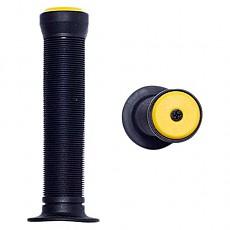 [해외]KRF Rubber Handle Grip Black / Yellow