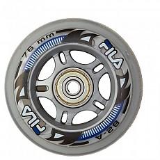 [해외]휠라 SKATE Wheels+Abec5+Alu Spacer Black / Grey
