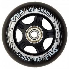 [해외]휠라 SKATE Wheels+Abec5+Alu Spacer White