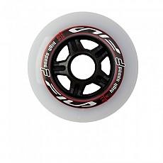[해외]휠라 SKATE Wheels 6 Units White / Red
