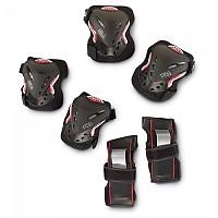 [해외]휠라 SKATE Junior Gear Black / Red