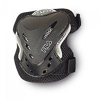 [해외]휠라 SKATE Fitness Elbowpad Black / Silver