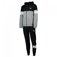 [해외]푸마 Hooded Sweat Suit Medium Gray Heather