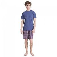 [해외]캘빈클라인 UNDERWEAR S/S Short Set Placid H Top / Fairway Plaid Pant