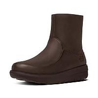 [해외]핏플랍 Loaff Shorty Zip Boot Chocolate B