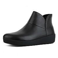 [해외]핏플랍 Supermod Leather Ankle II Black