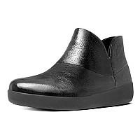 [해외]핏플랍 Supermod Leath Ankle Boot Black