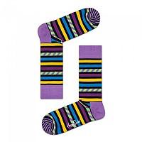 [해외]HAPPY SOCKS Stripes And Stripes Purple