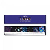 [해외]HAPPY SOCKS Gift Box Seven Days Blue