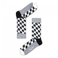 [해외]HAPPY SOCKS Filled Optic Grey / Black / White