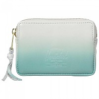 [해외]허쉘 Oxford Pouch White / Aqua Gradient