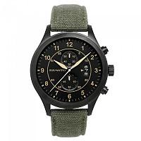[해외]싼토 1201 Military Pilot Steel Black / Canvas Army Green