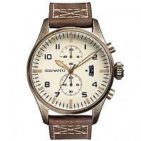 [해외]싼토 4002 Vintage Pilot Bronze / Leather Brown