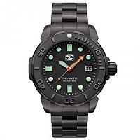 [해외]싼토 5122 5120 Series Steel / Black Bracelet