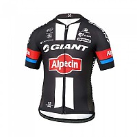 [해외]에띠엔도 Team Climber Jersey Giant Alpecin Black / White / Red