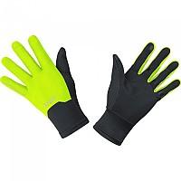 [해외]GORE? Wear M Windstopper Gloves Black / Neon Yellow