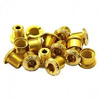 [해외]MSC Chainring Bolts Kit Alu7075T6 15 Units Gold