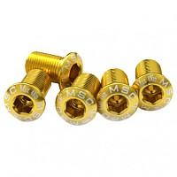 [해외]MSC Chainring Bolts Kit Alu7075T6 5 Units Gold