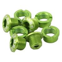 [해외]MSC Chainring Bolts Kit Alu7075T6 8 Units Green