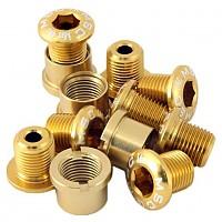 [해외]MSC Chainring Bolts Kit Alu7075T6 12 Units Gold