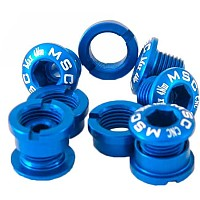 [해외]MSC Chainring Bolts Kit Alu7075T6 10 Units Blue