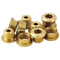 [해외]MSC Chainring Bolts Kit Alu7075T6 10 Units Gold