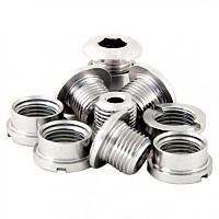[해외]MSC Chainring Bolts Kit Alu7075T6 10 Units Silver