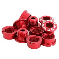[해외]MSC Chainring Bolts Kit Alu7075T6 10 Units Red