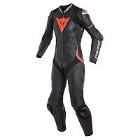 [해외]다이네즈 Laguna Seca 4 Perforated Leather Black / Black / Fluo-Red